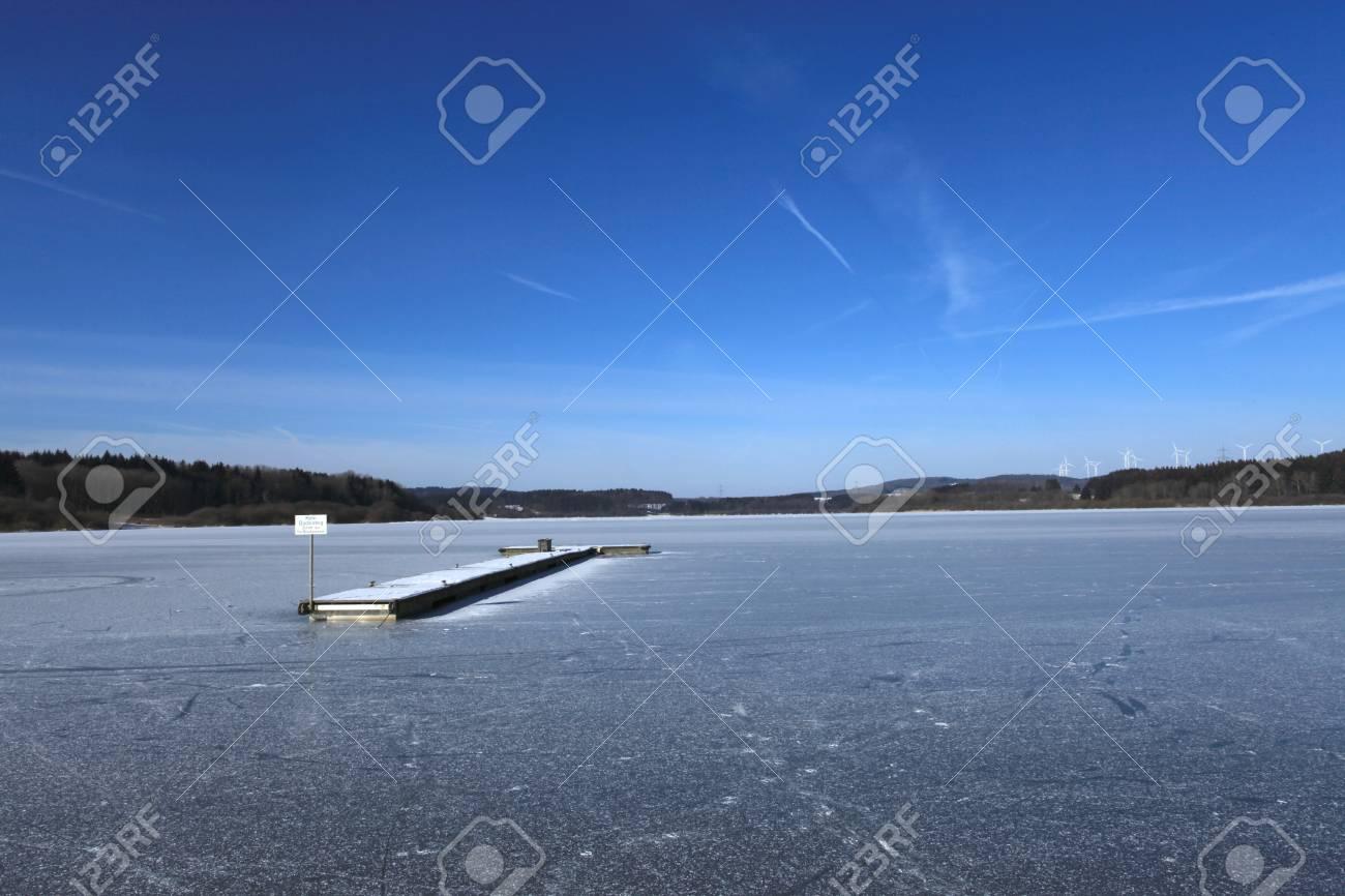 Frozen Lake Stock Photo - 20633879