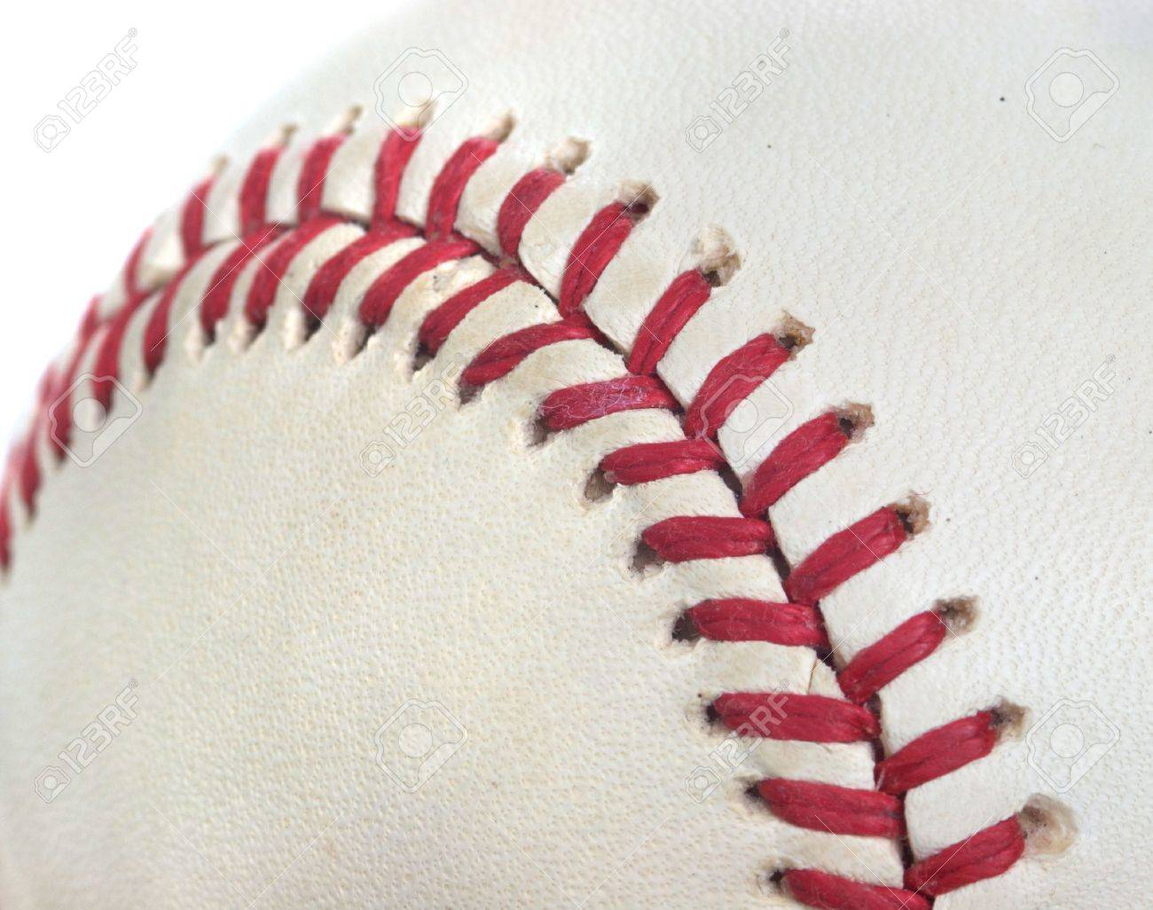 Closeup of a baseball perfect for a sports background Stock Photo - 9176435