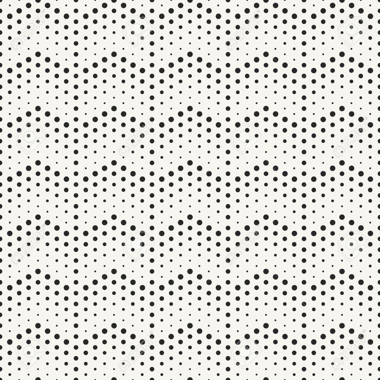 Blanco Y Negro De Moda De Líneas De Puntos Textura - Patrón ...