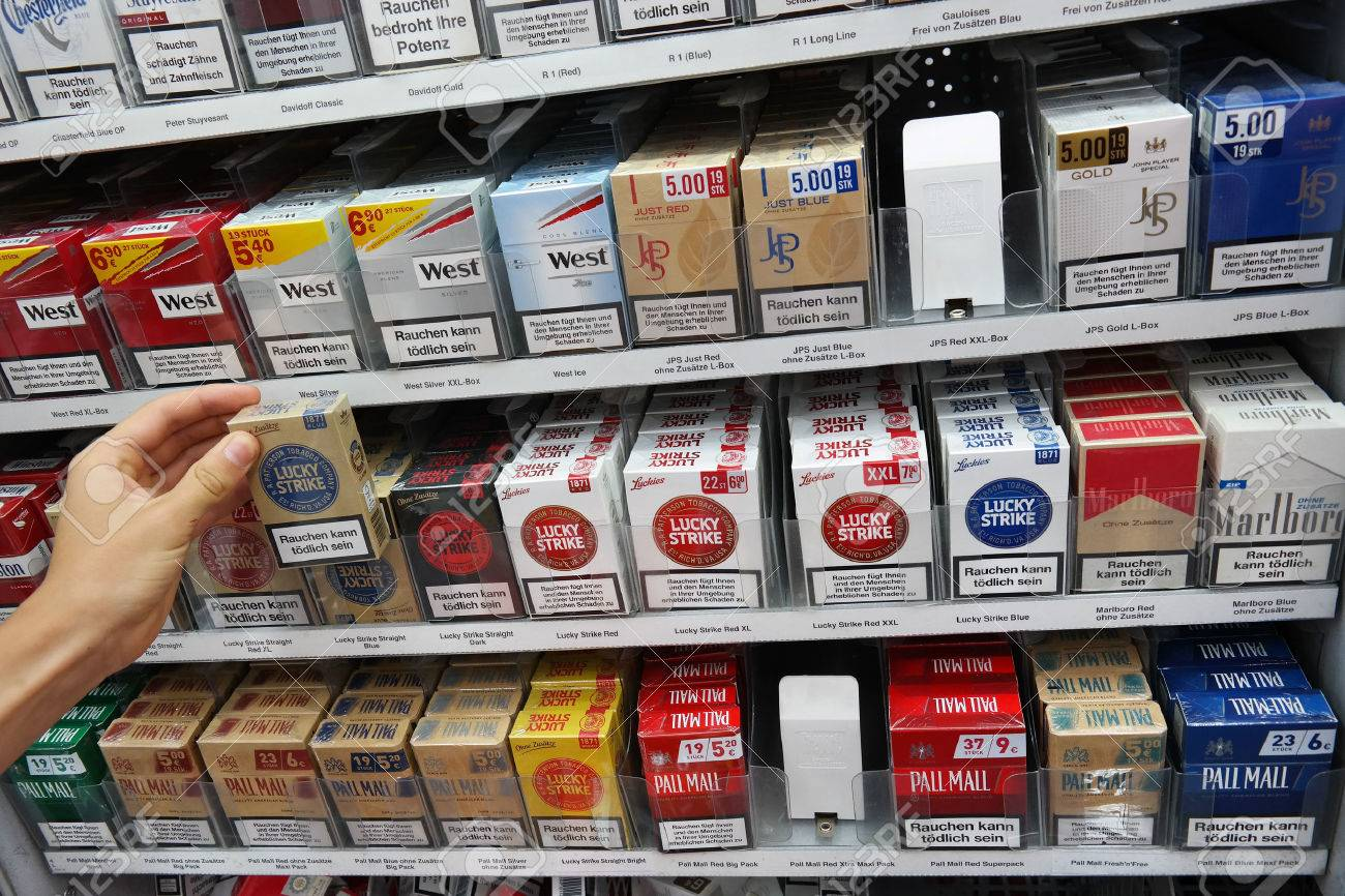 Glamour cigarettes types blue