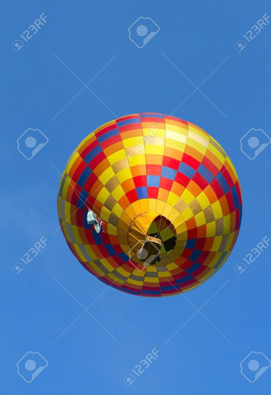 hot air balloon being inflated Stock Photo - 13886434