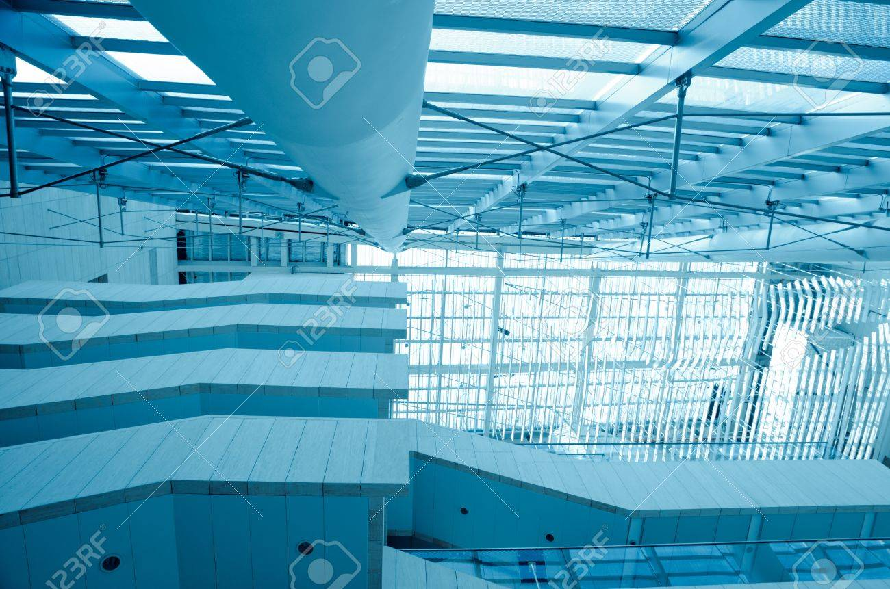 modern office building  architecture stair Stock Photo - 11156179