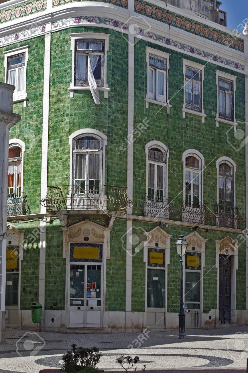 Interessante Gefliest Dekoration Des Hauses Im Zentrum Von Lagos   Algarve  (Portugal)   8
