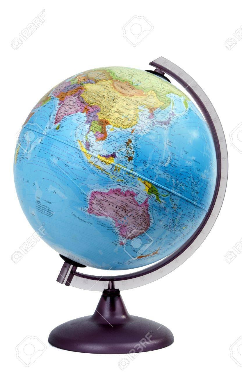 Spinning Globe: Globe Asia Oceania