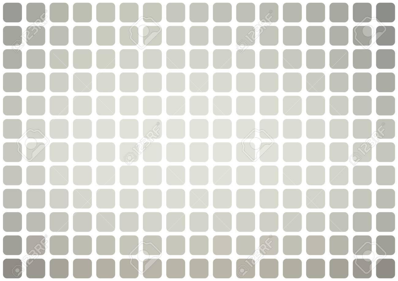 Vector Abstract Grau MosaikHintergrund Mit Abgerundeten - Fliesen grau quadratisch