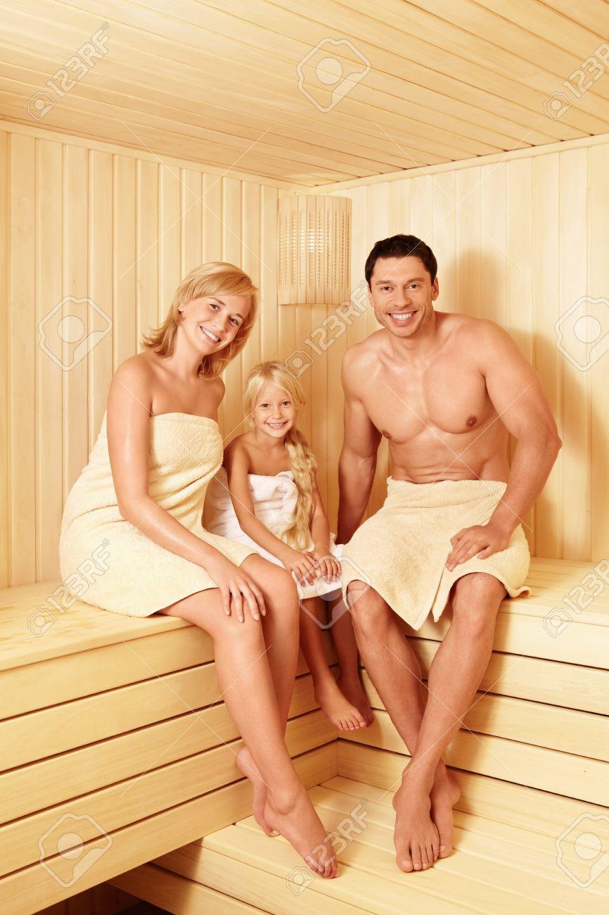 В бане муж с женой фото