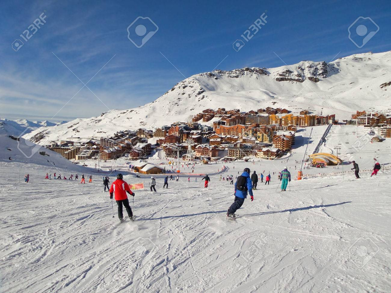 Ski Resorts Europe Stock Photos Images