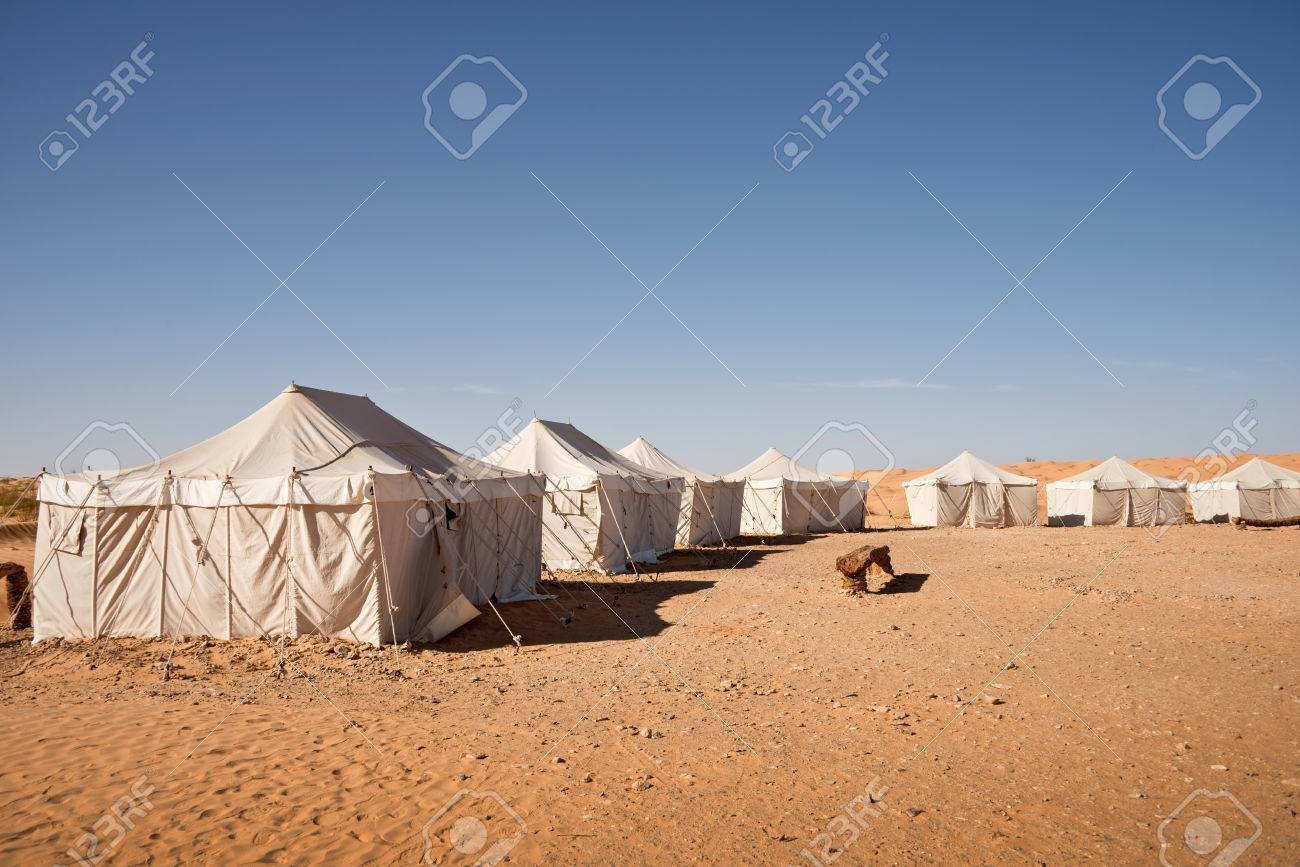 C& of tents in the desert of Sahara South Tunisia Stock Photo - 32893195 : sahara tents - memphite.com