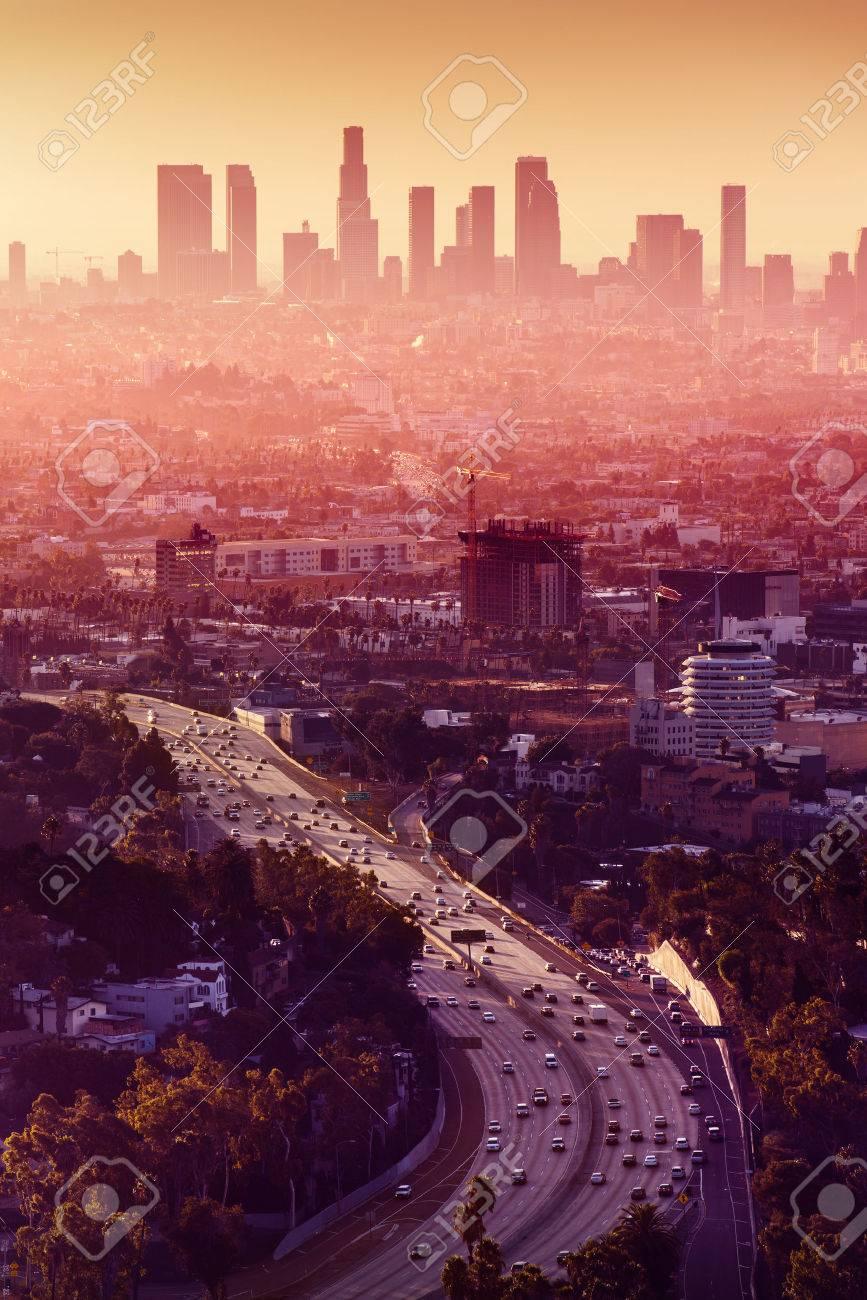 Los Angeles - California City Skyline - 26115783