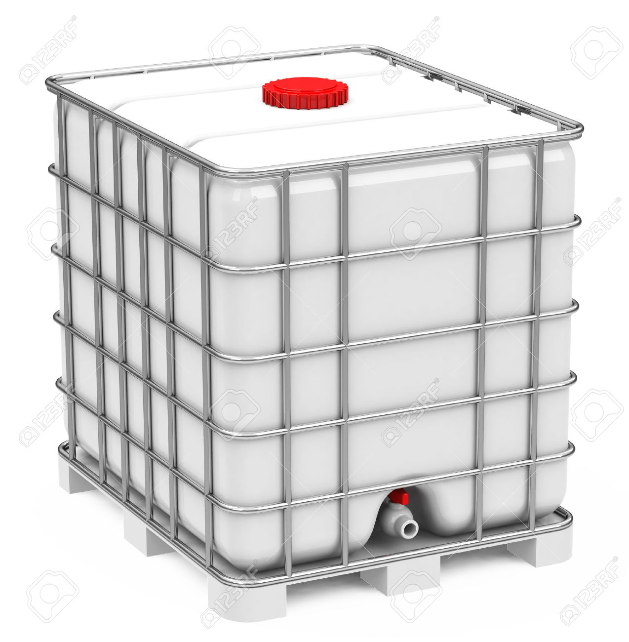 The Ibc Container Stock Photo Picture And Royalty Free Image Image
