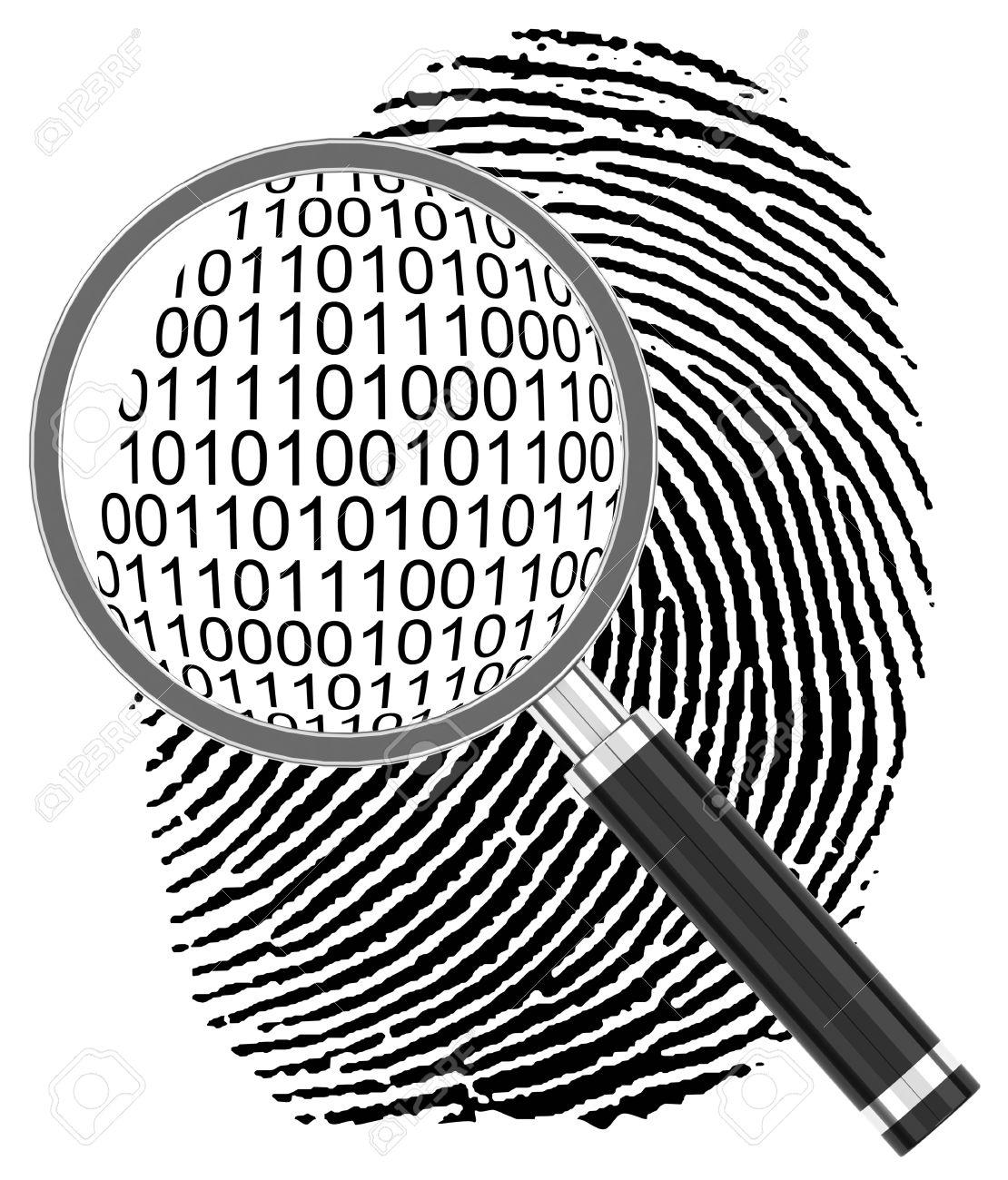 the digital fingerprint - 30806885