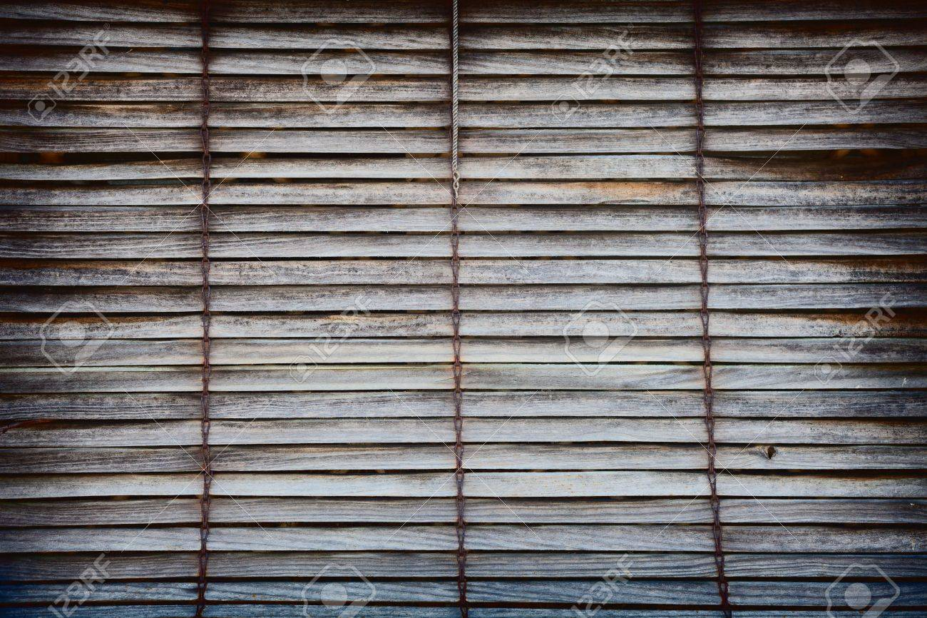 Old Wooden Window Blinds For Backgrounds Or Texture Stock Photo Picture And Royalty Free Image Image 18274585