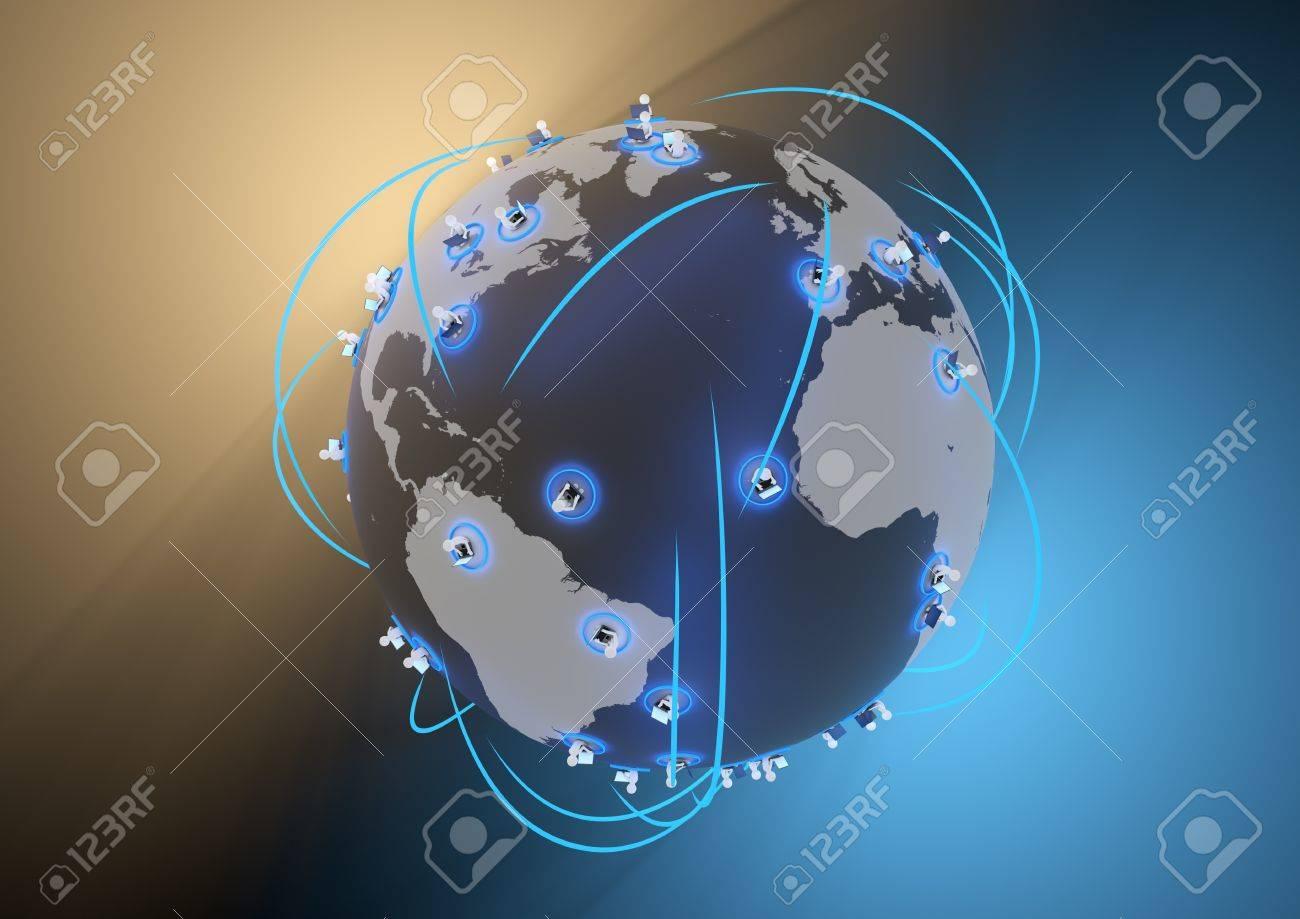 social network concept Stock Photo - 10614252