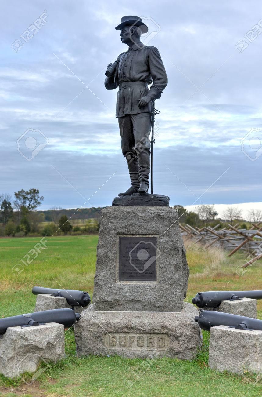 ゲティスバーグ国立軍事公園、ペンシルバニア州でジョン ・ ビュ ...