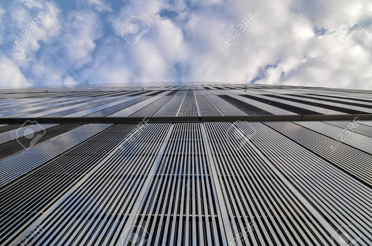 NEW YORK, NEW YORK - JANUARY 13, 2010: 7 World Trade Center,