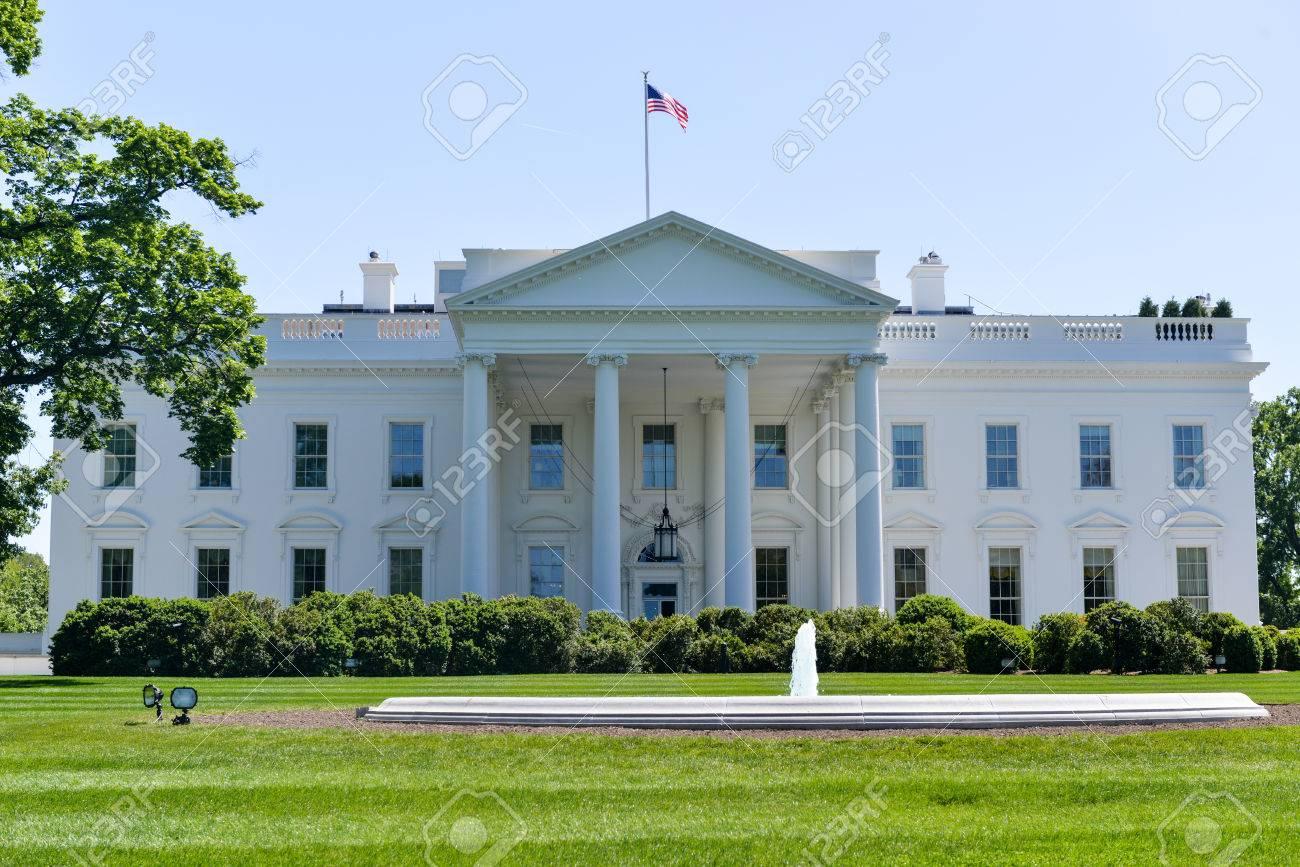 La maison blanche à washington dc la résidence du président des états unis