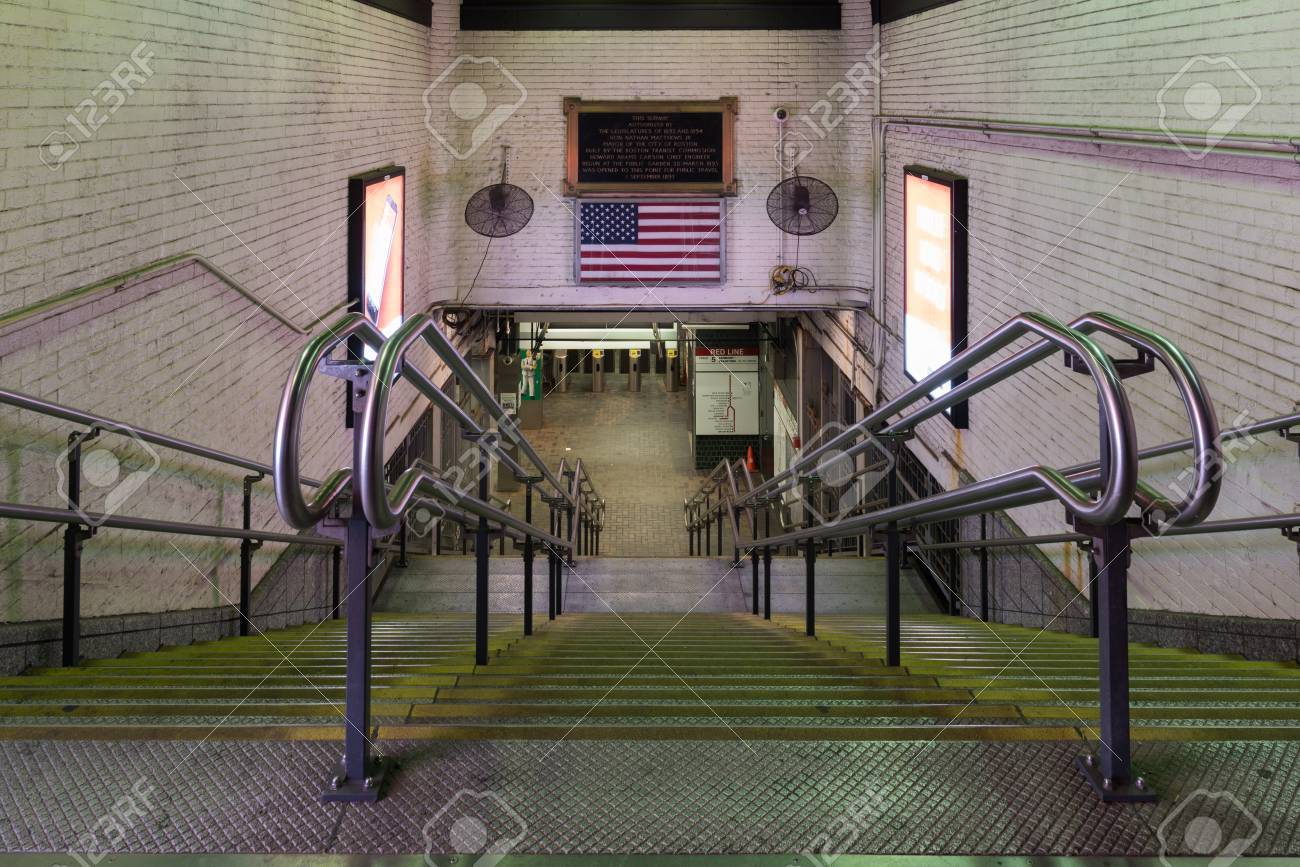 Park Street Station on the MBTA subway system, located at the