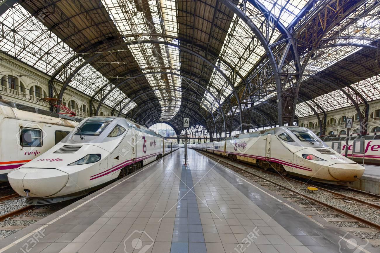 Barcelona Spain November 29 2016 Estacion De Francia Is