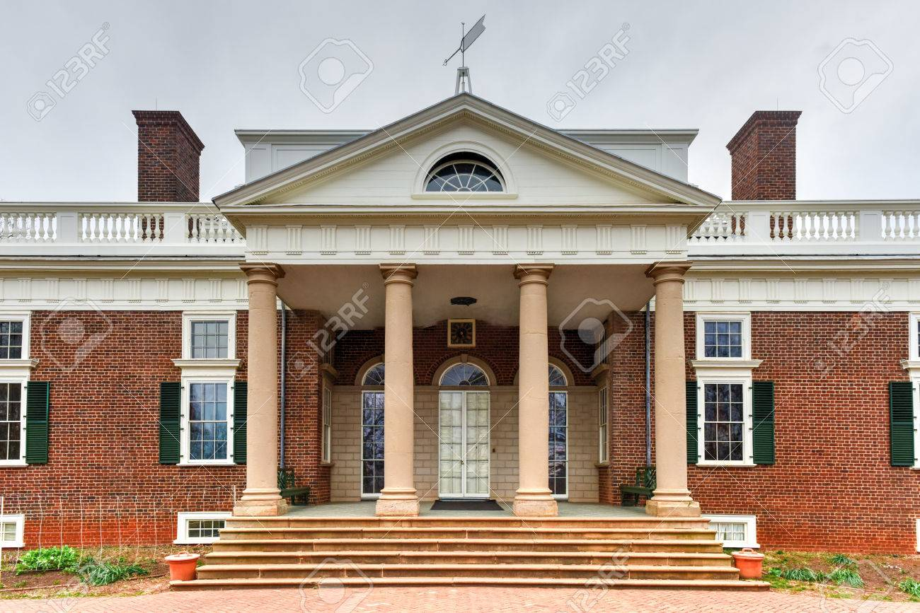 Peachy Thomas Jeffersons Home Monticello In Charlottesville Virginia Home Interior And Landscaping Synyenasavecom