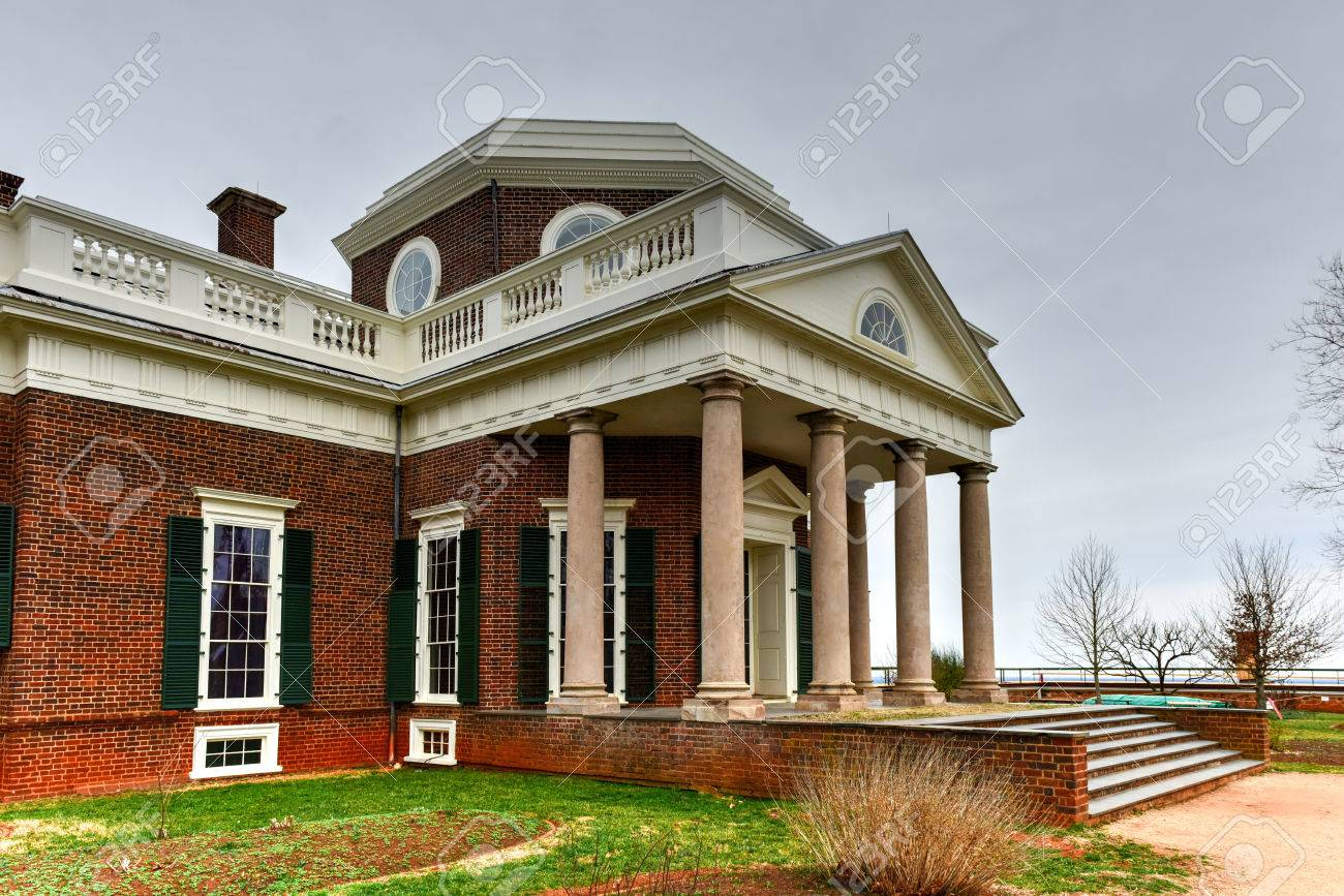 Cool Thomas Jeffersons Home Monticello In Charlottesville Virginia Home Interior And Landscaping Synyenasavecom