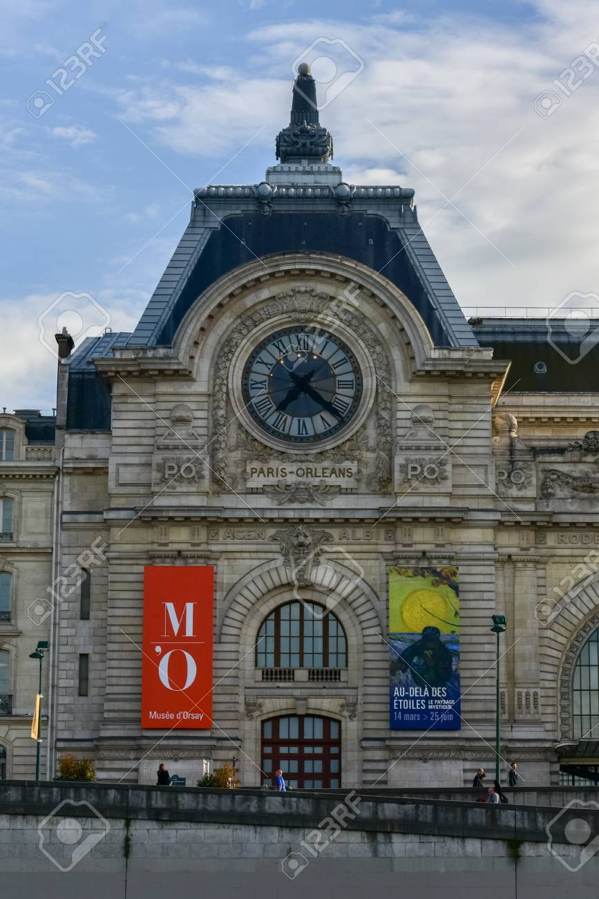 View Of The Wall Clock In D Orsay Museum D Orsay A Museum Stock Photo Picture And Royalty Free Image Image 81906727