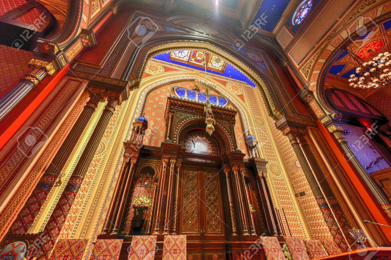 New York City - Oct 11, 2017: Central Synagogue in Midtown Manhattan,