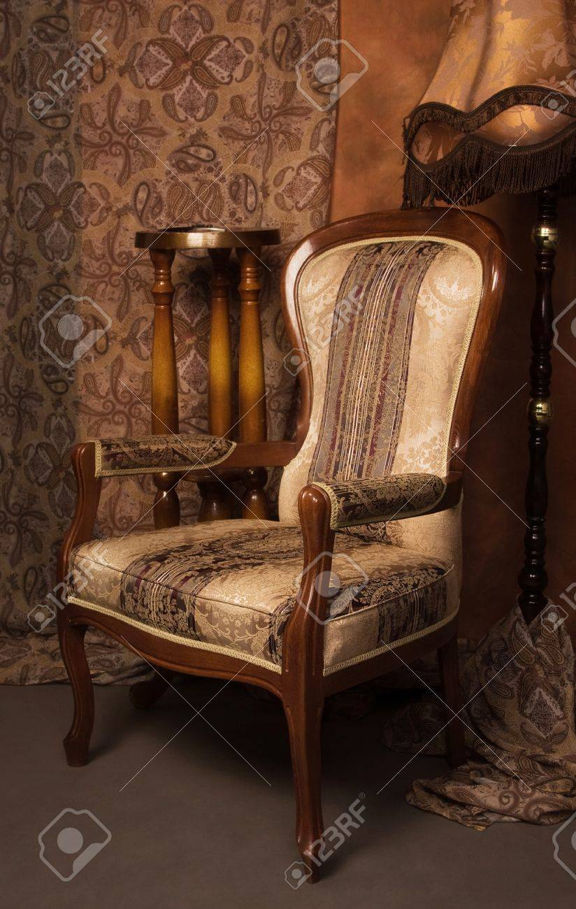 Luxurious interior in the vintage style Stock Photo - 9058289