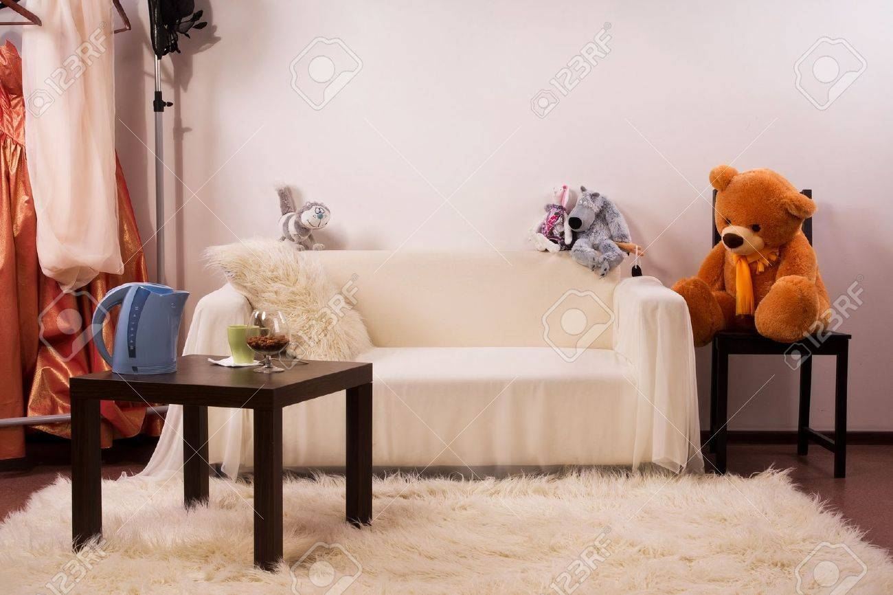 Refined bedroom interior in the vintage style Stock Photo - 11093495