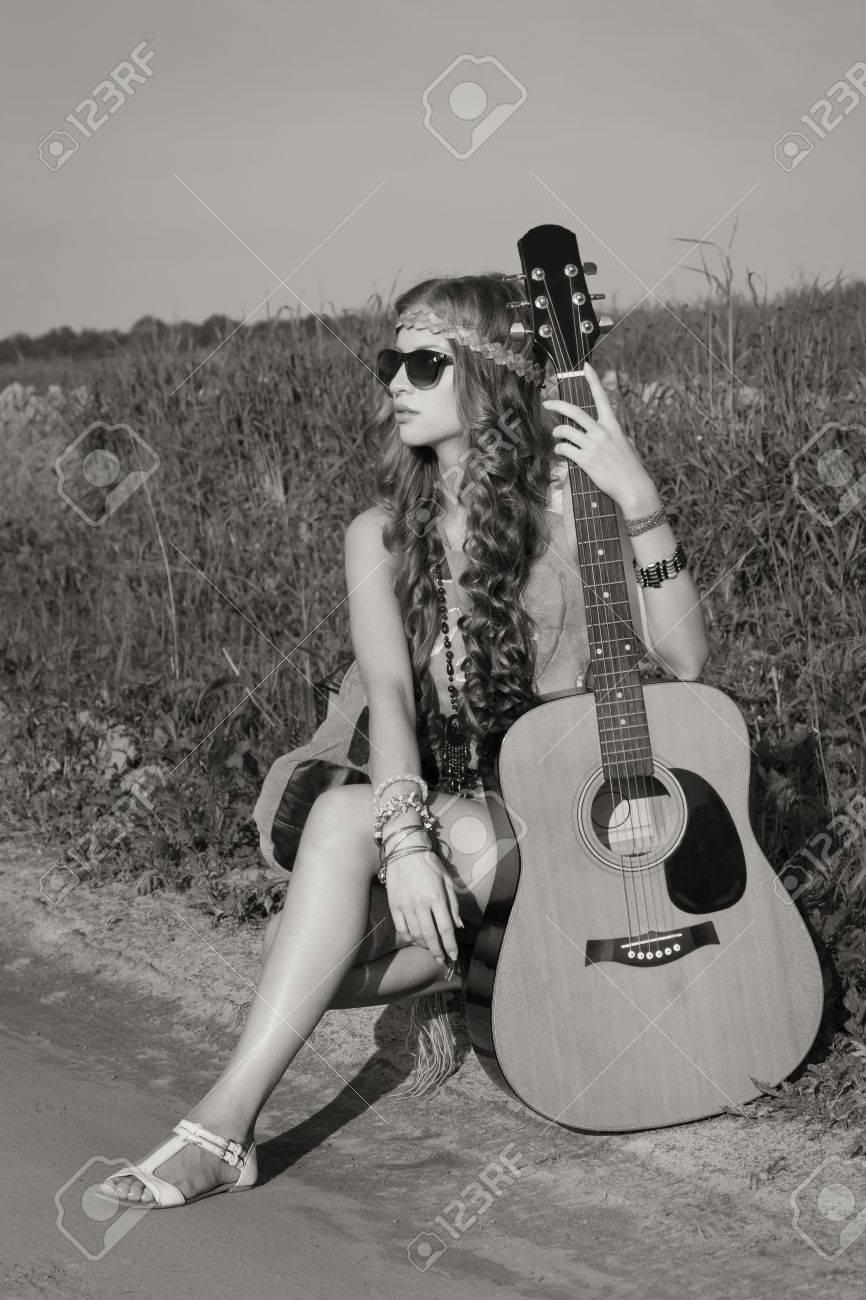 Young hippie girl photos 5