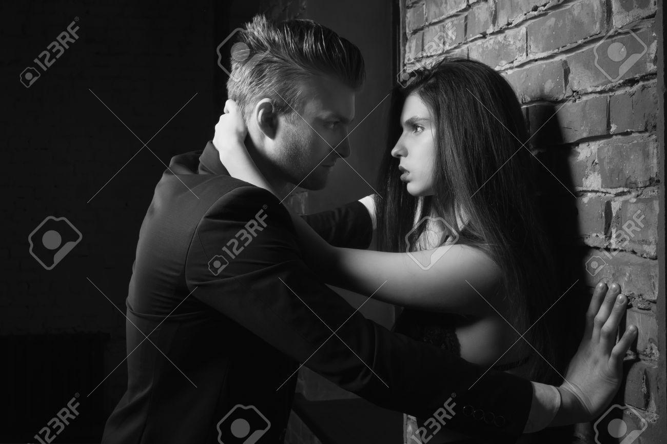 Weißer Kerl Mädchen Romantisch Schwarzes Psycho: Das