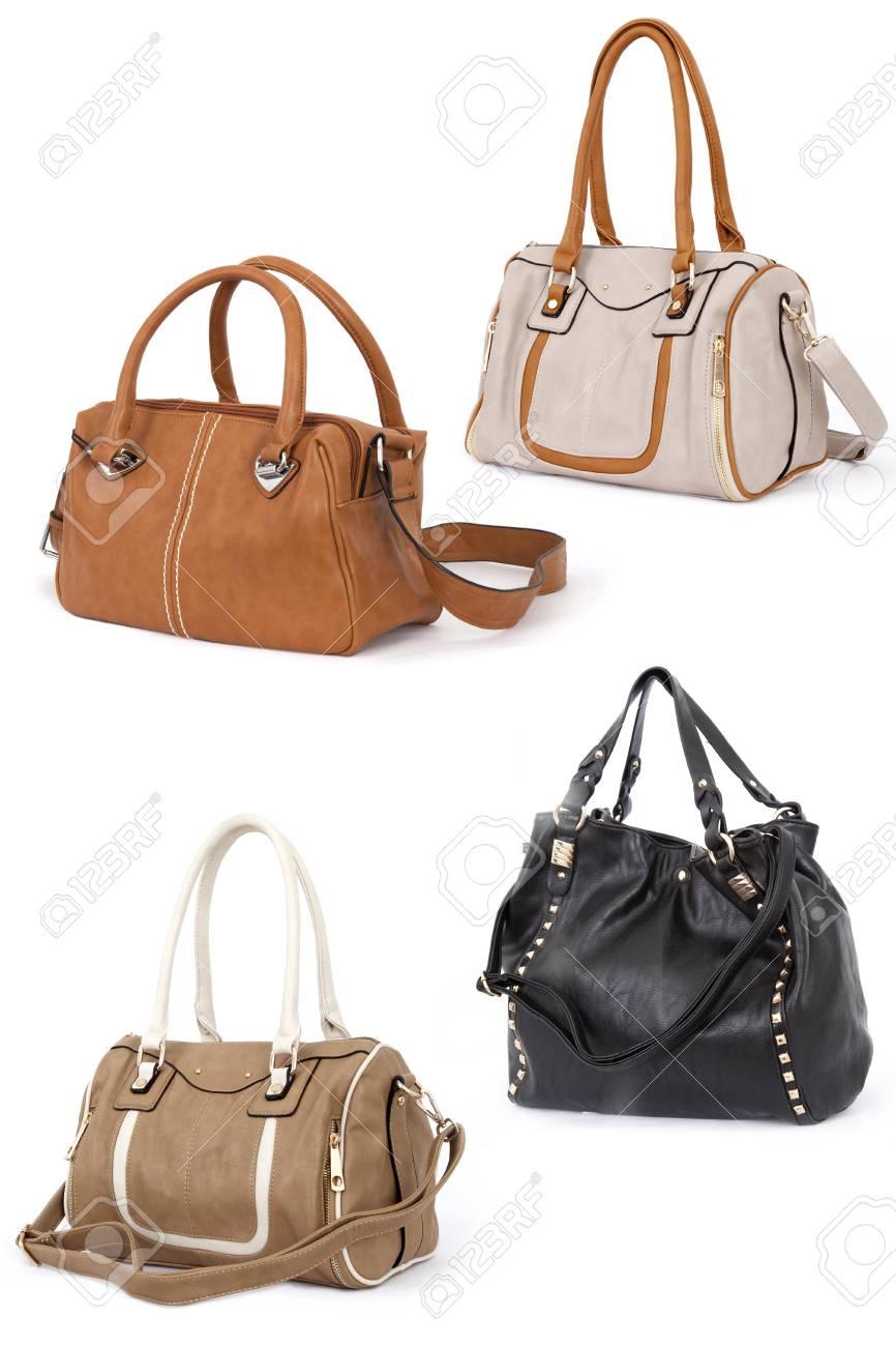Woman handbag isolated on white Stock Photo - 26348433