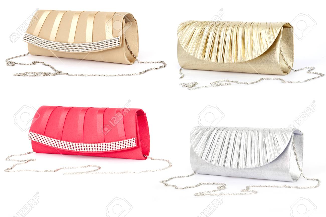 Woman handbag isolated on white Stock Photo - 26348453