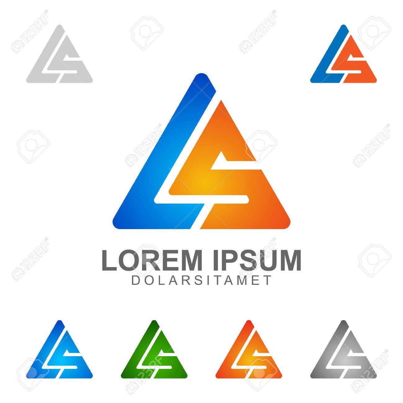 letter L , letter S , LS , letter l S vector logo design - 52185369