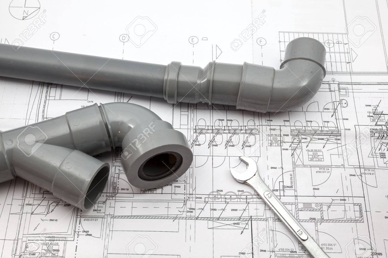 on a plan of a house there is work tools and work equipment - 51769522