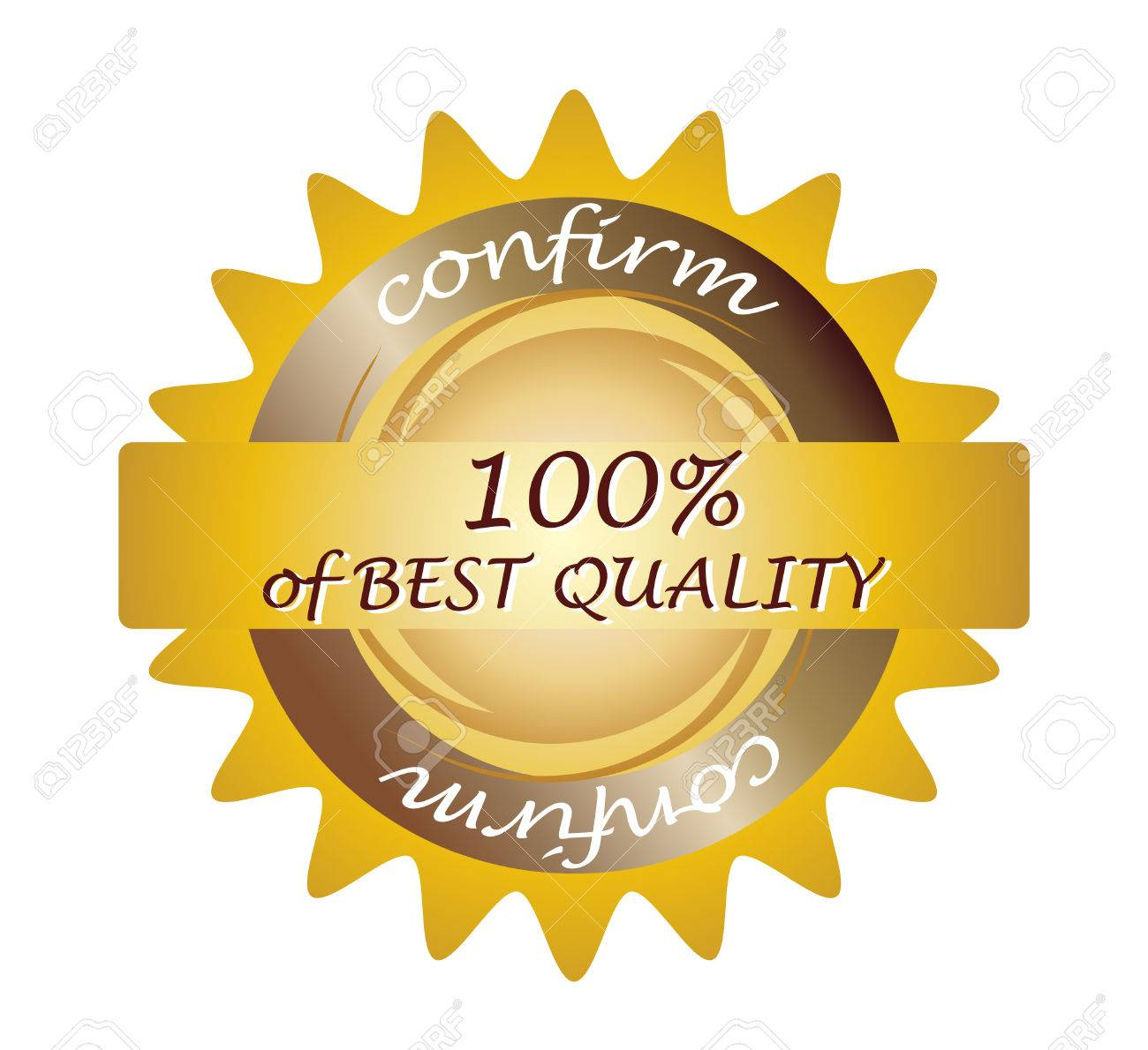 Seal 100% Quality; Clip-art Royalty Free Cliparts, Vectors, And ...