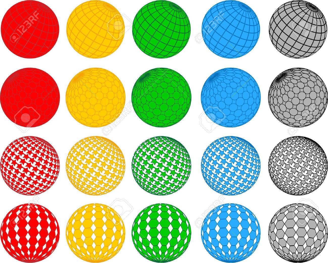 Vector Disco Ball Collection; Clip-art Royalty Free Cliparts ...