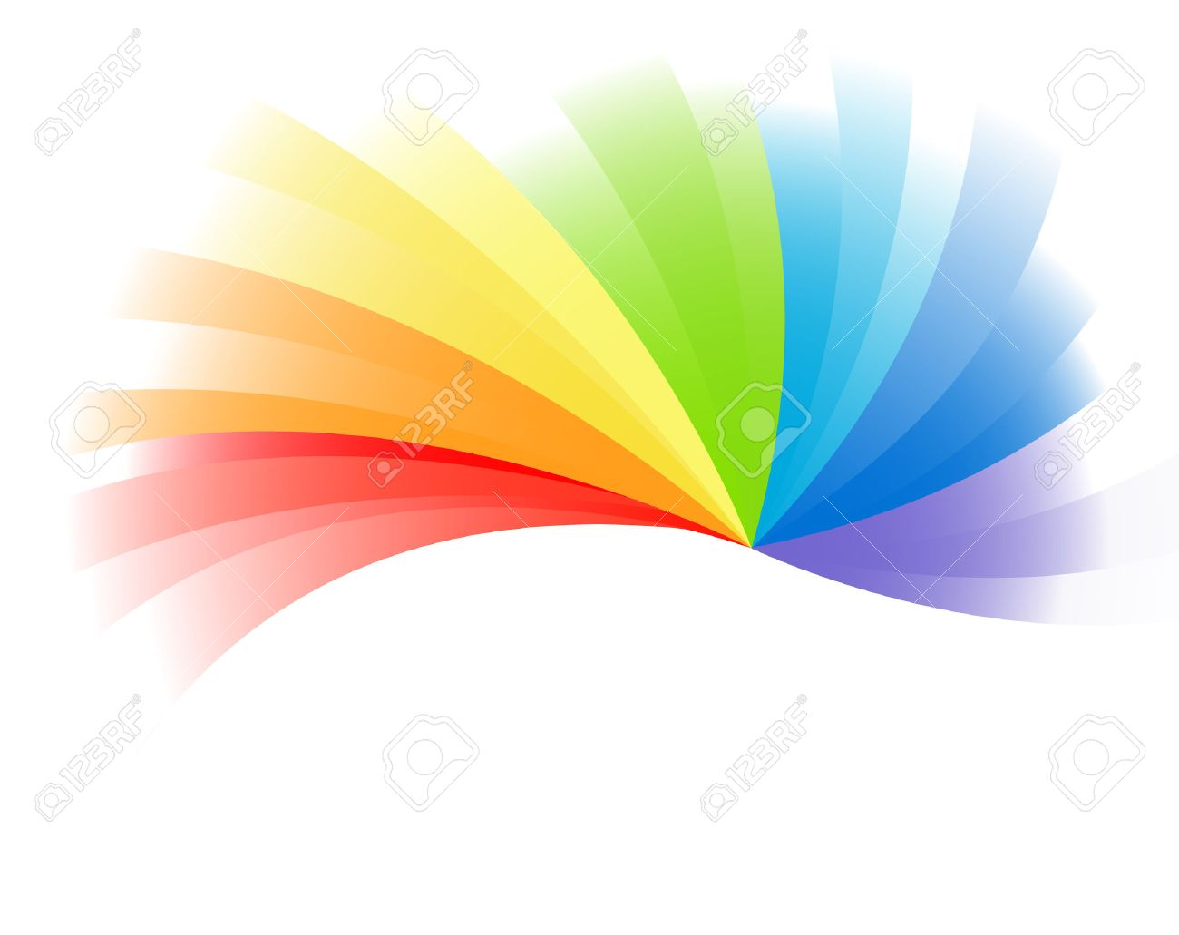 Vector colorful background; clip-art Stock Vector - 5587894