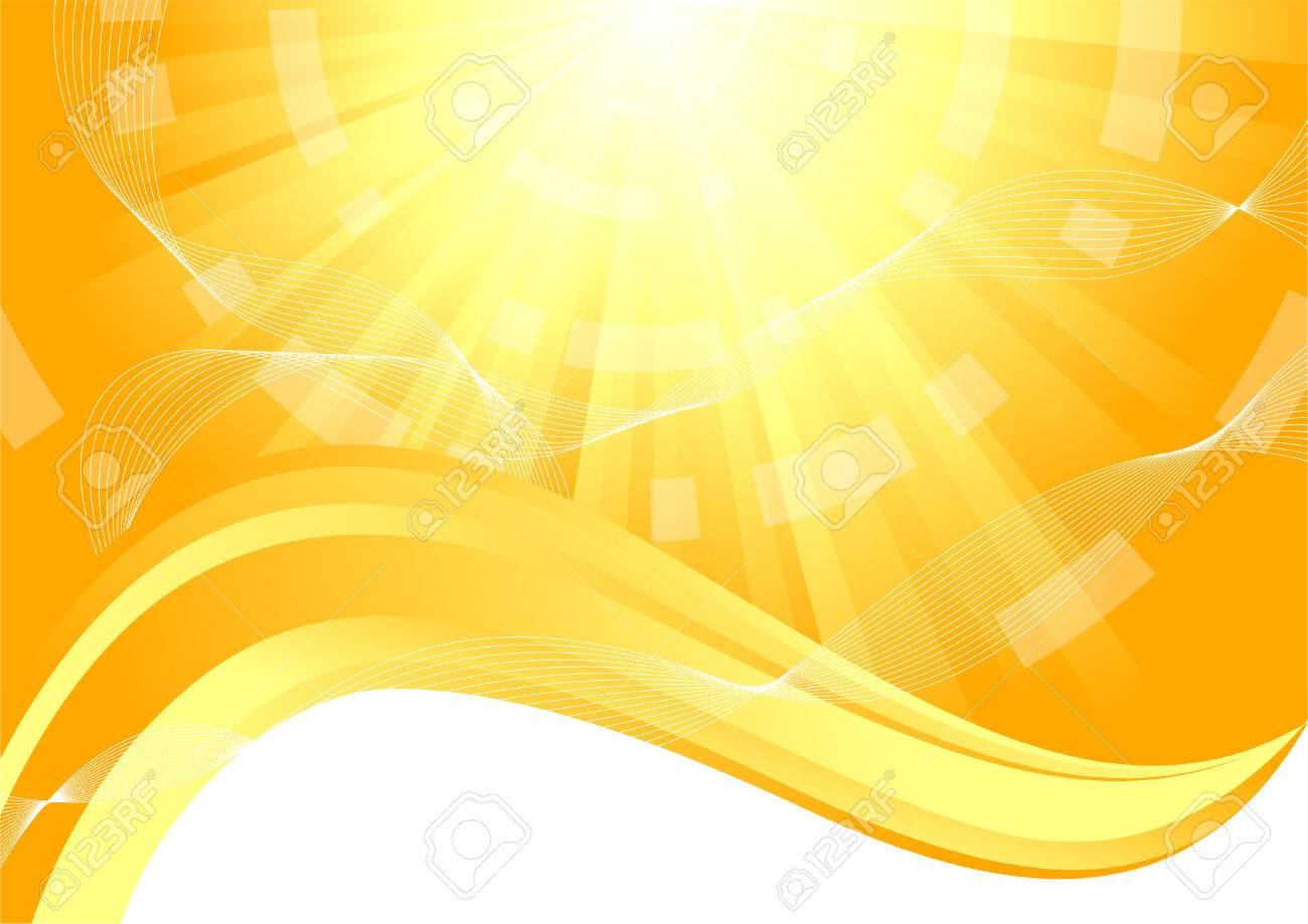 sunny background, clip-art Stock Vector - 6343856