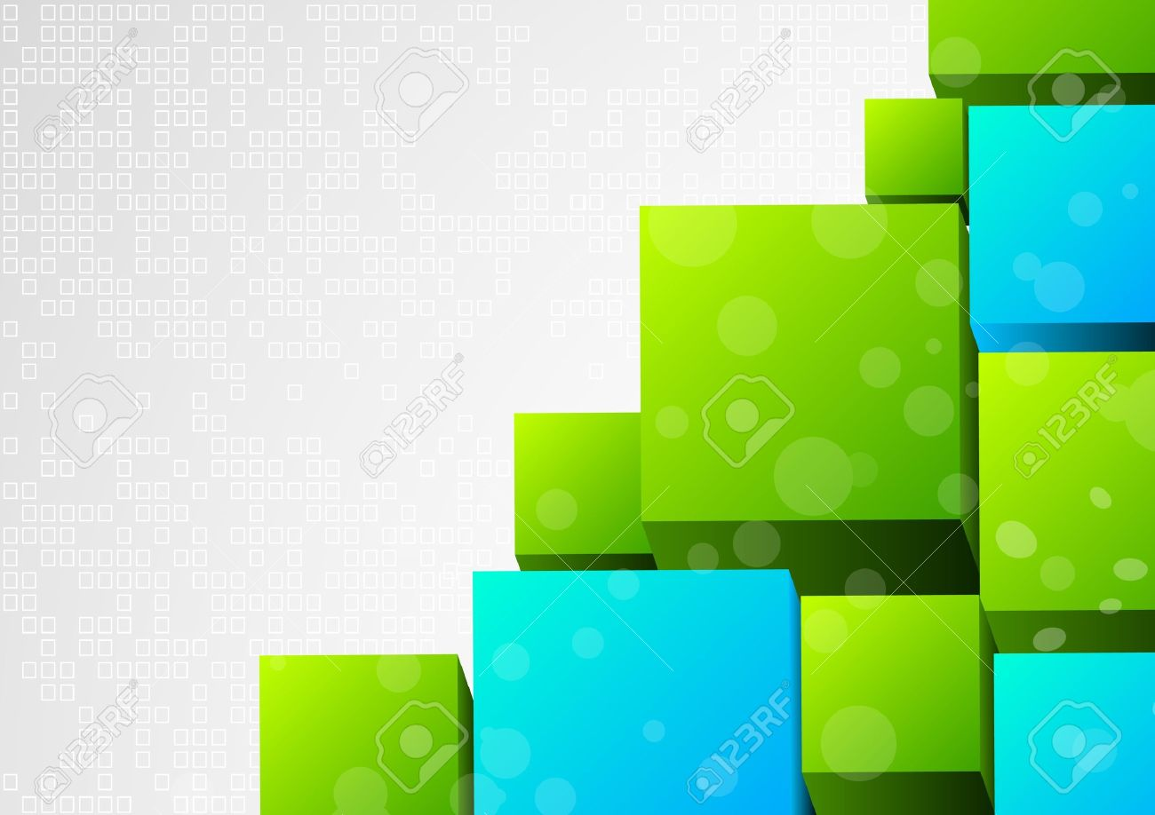 abstract 3d background with block stock photo picture and royalty