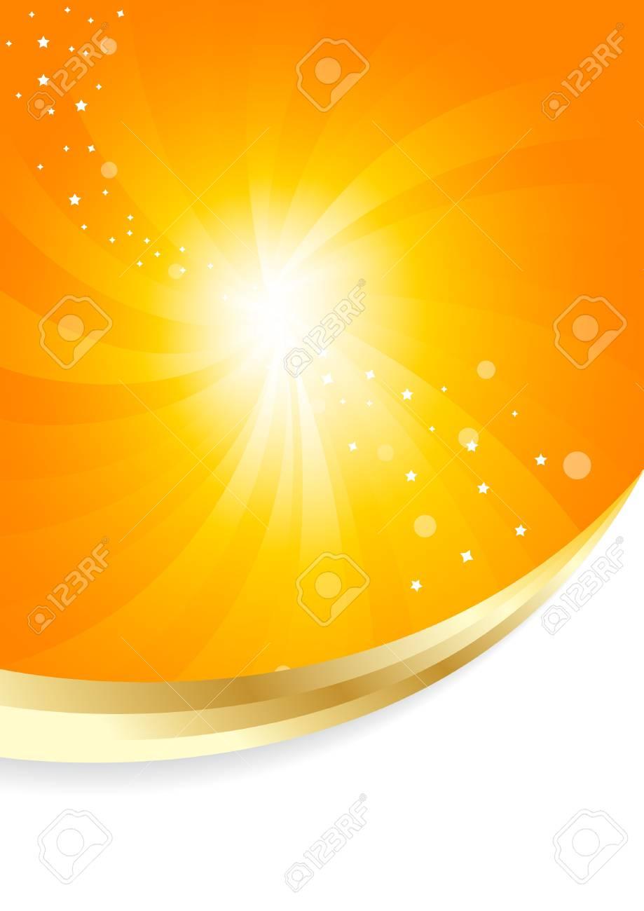 sunny background, clip-art Stock Vector - 14957999