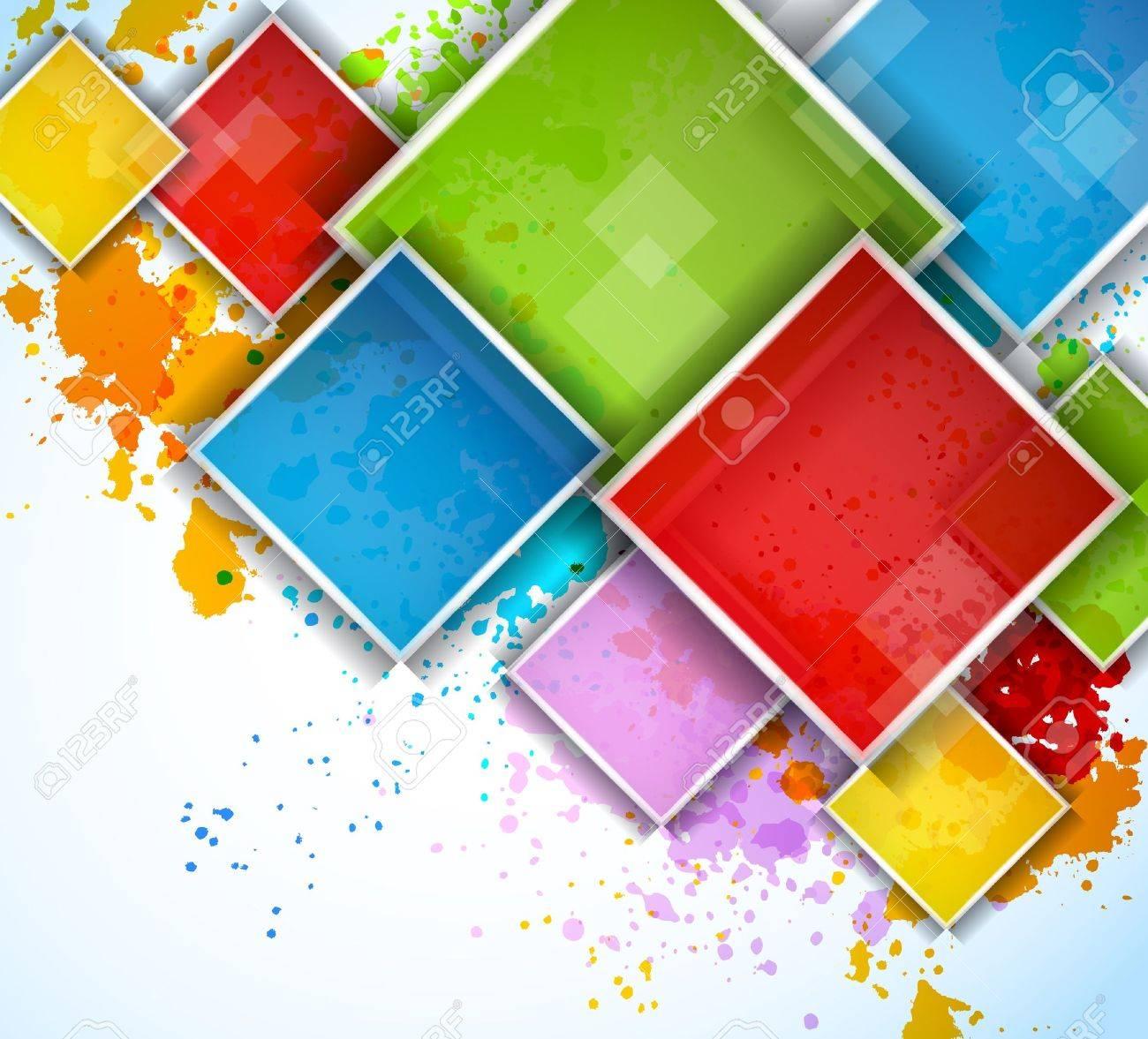 Colorful squares - 15222554