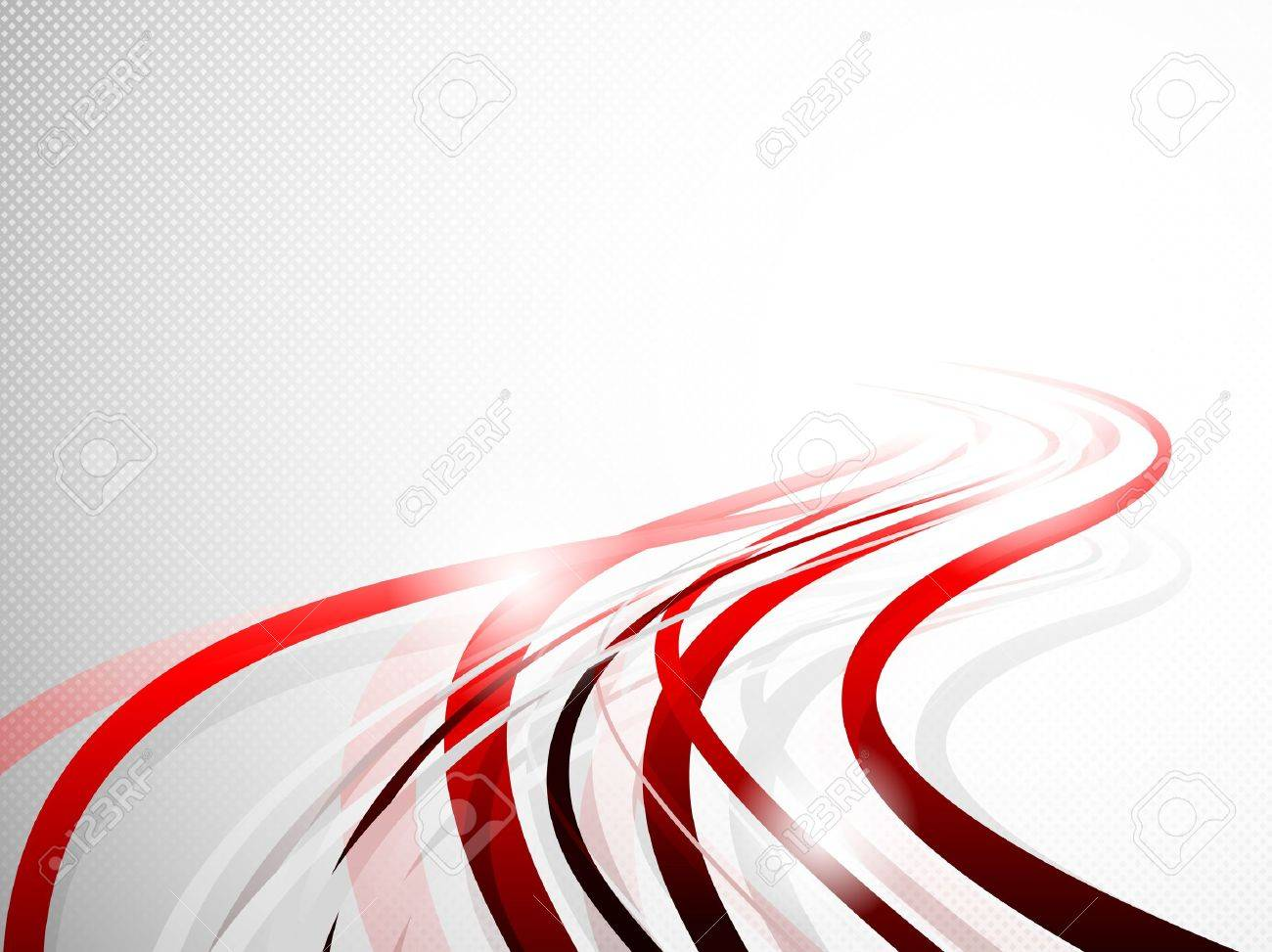 Abstract wavy background  Bright illustration Stock Vector - 19348093