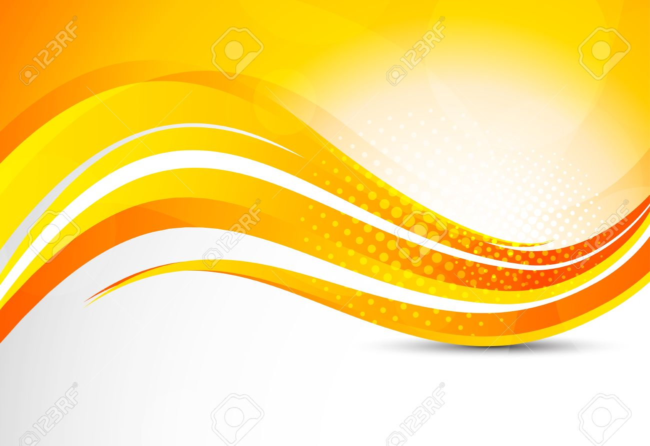Abstract Orange Background Bright Illustration Royalty Free ...