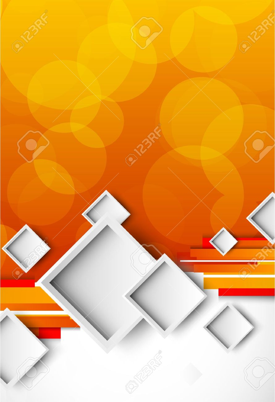 cover page design stock photos images royalty cover page cover page design abstract orange brochure squares