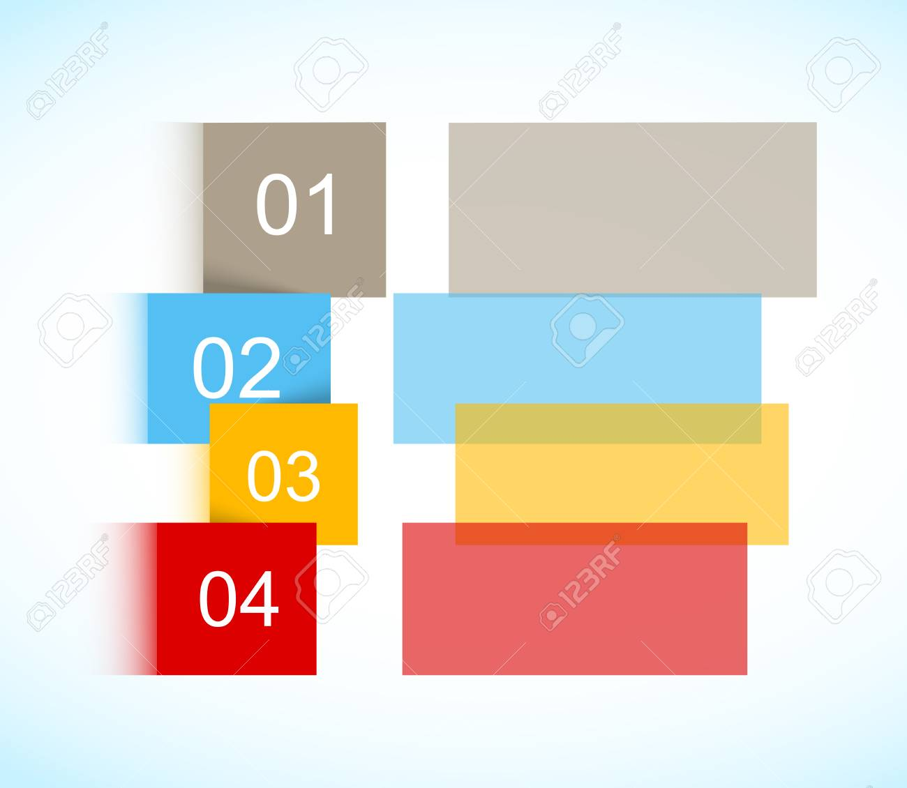 Colorful brochure Stock Vector - 25623800