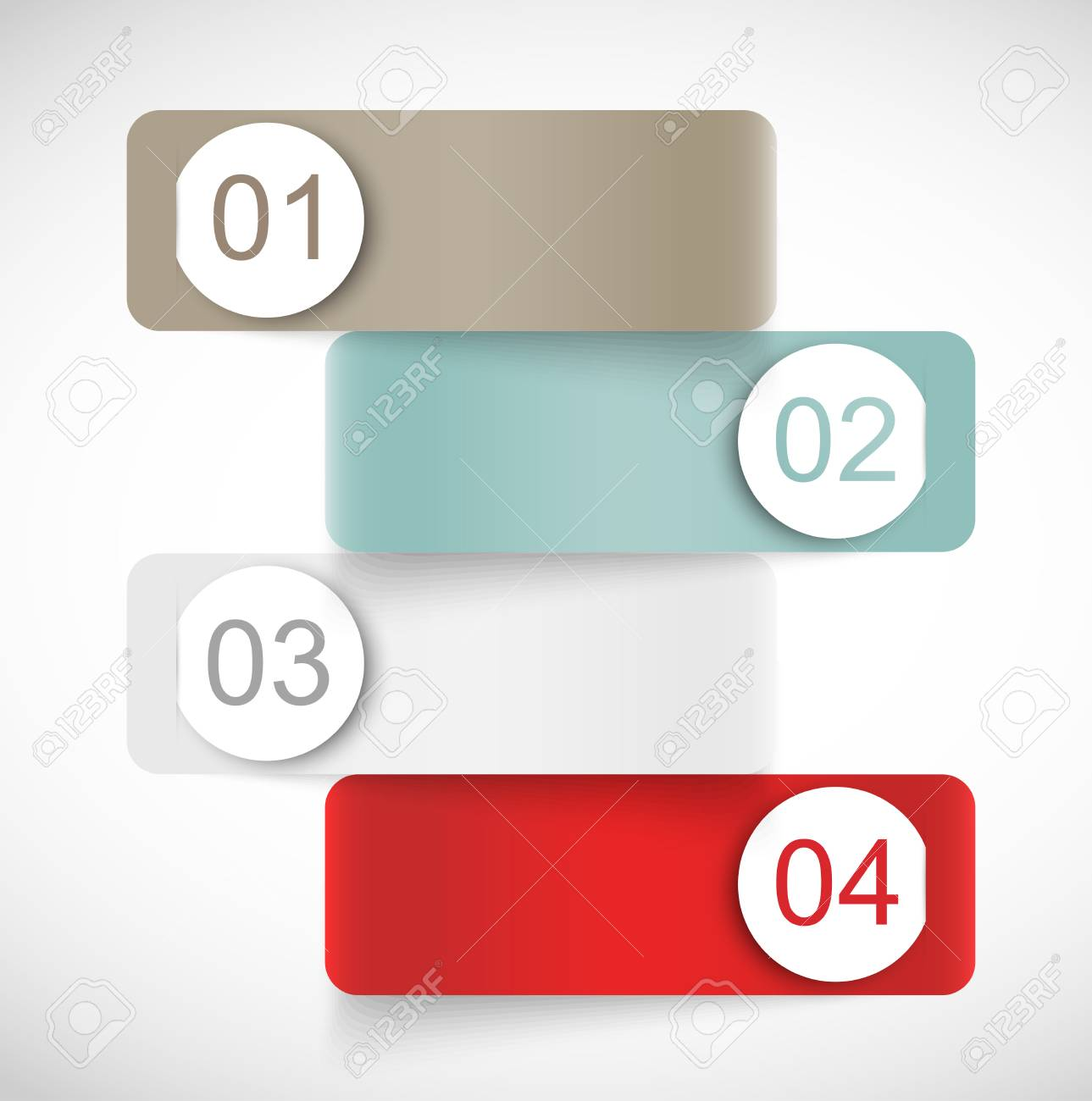 Set of banners with circles Stock Vector - 25803256