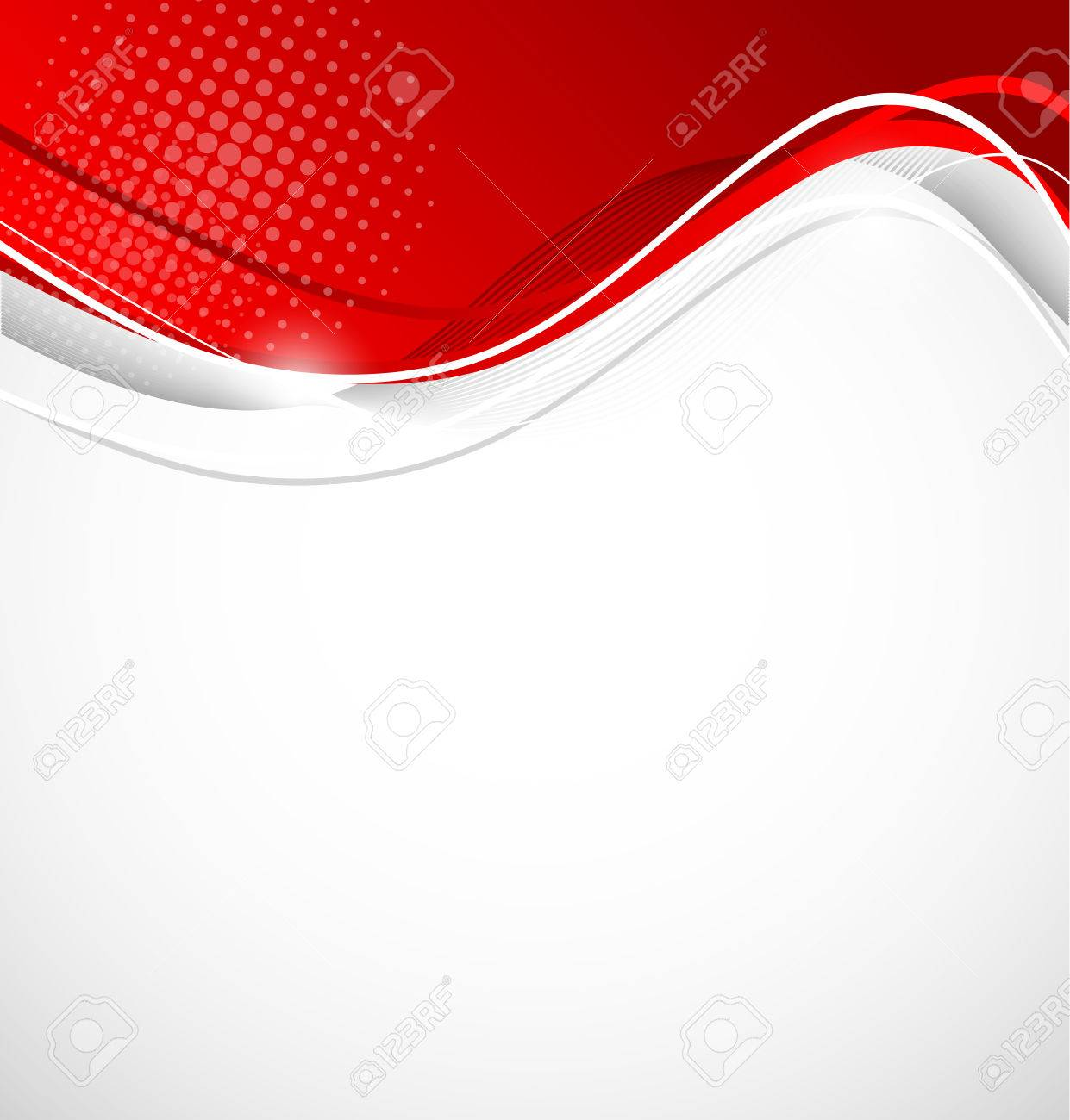 26672720 abstract wavy background in red color