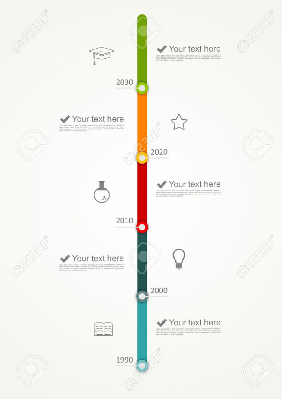 timeline infographic royalty free cliparts vectors and stock