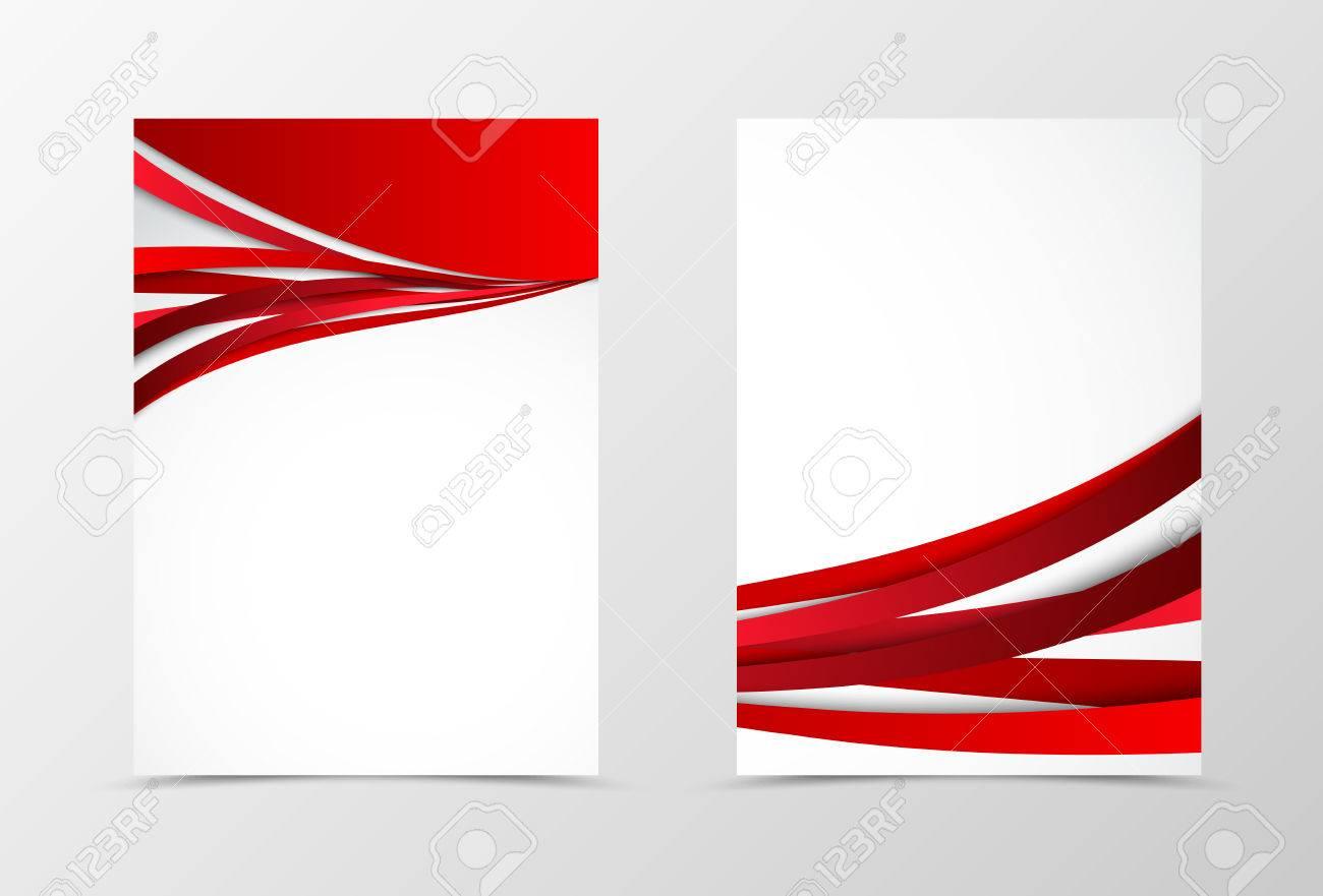 línea roja ondulada