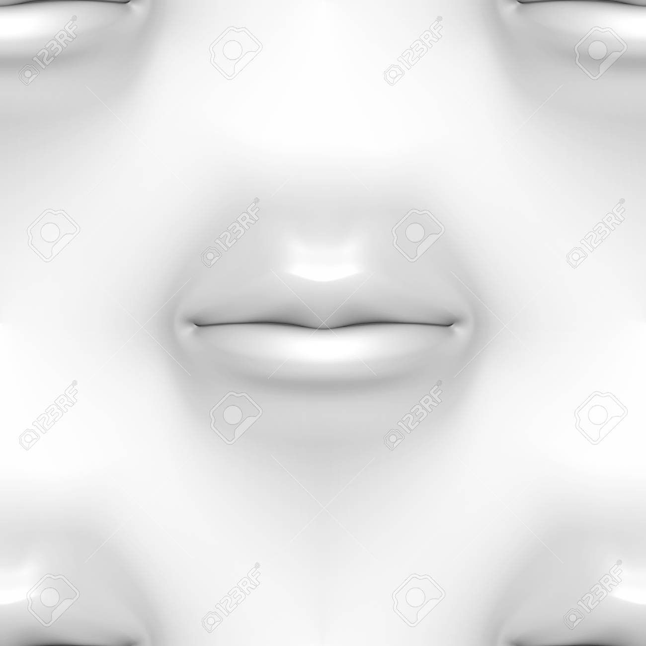 Mouth in wall, seamless texture Stock Photo - 12742637